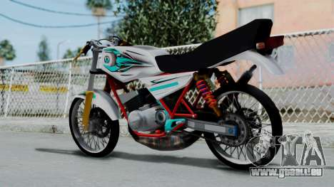 RX- King Putih für GTA San Andreas linke Ansicht