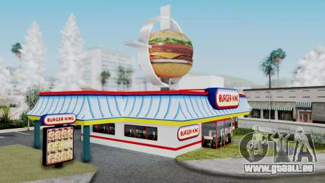 Burger King Texture für GTA San Andreas zweiten Screenshot