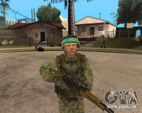 Russische Armee Skin Pack für GTA San Andreas zweiten Screenshot