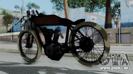 Indian 1907 pour GTA San Andreas laissé vue