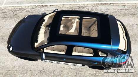 GTA 5 Porsche Macan Turbo 2015 vue arrière