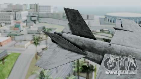 Mammoth Hydra v2 pour GTA San Andreas sur la vue arrière gauche