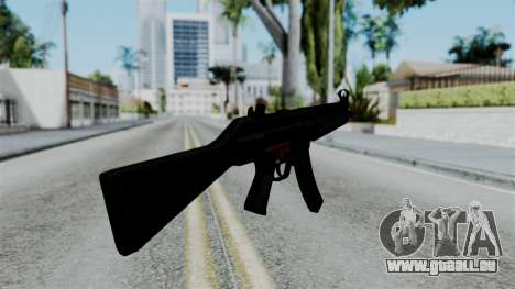 No More Room in Hell - MP5 pour GTA San Andreas troisième écran