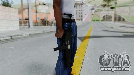 GTA 5 SMG für GTA San Andreas dritten Screenshot