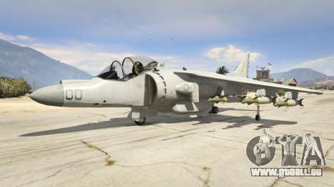 McDonnell Douglas AV-8B Harrier II pour GTA 5
