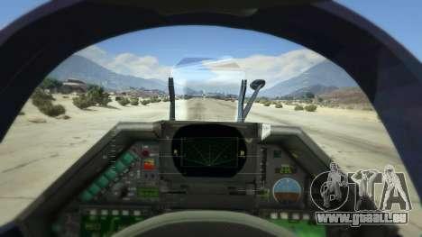 GTA 5 Dassault Mirage 2000-5 quatrième capture d'écran