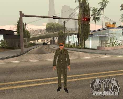 Russische Armee Skin Pack für GTA San Andreas zehnten Screenshot