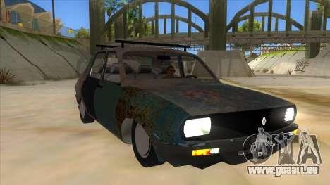 Dacia 1310 Rusty v2 pour GTA San Andreas vue arrière