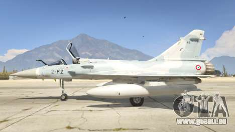 GTA 5 Dassault Mirage 2000-5 deuxième capture d'écran