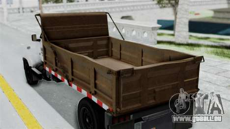 GTA 5 Tipper Second Generation pour GTA San Andreas vue de droite
