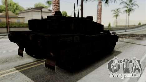 Point Blank Black Panther Rusty für GTA San Andreas rechten Ansicht