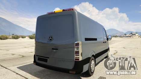 Mercedes-Benz Sprinter Worker Van pour GTA 5