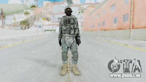 Acu Soldier 4 pour GTA San Andreas deuxième écran