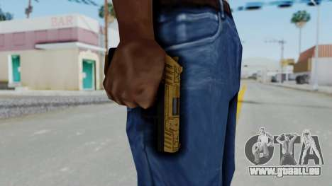 GTA 5 Online Lowriders DLC Combat Pistol pour GTA San Andreas troisième écran