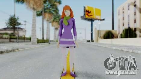 Scooby Doo Daphne pour GTA San Andreas deuxième écran