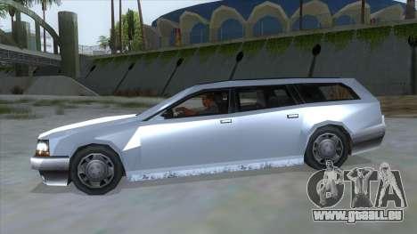 GTA LCS Sindacco Argento für GTA San Andreas linke Ansicht