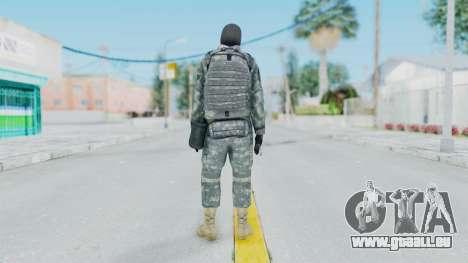 Acu Soldier 3 für GTA San Andreas dritten Screenshot