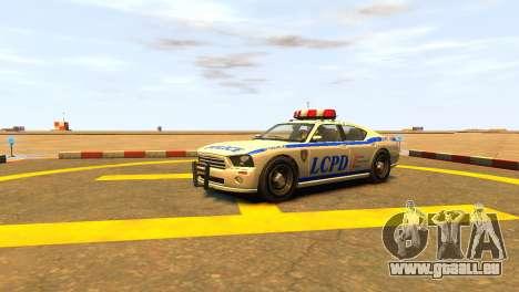Bravado Buffalo Police Patrol [original wheels] für GTA 4