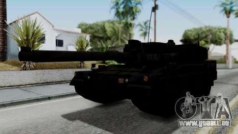 Point Blank Black Panther Woodland IVF pour GTA San Andreas sur la vue arrière gauche