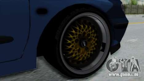 Renault Megane Stance für GTA San Andreas zurück linke Ansicht