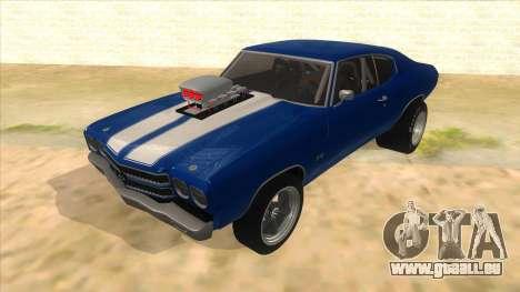1970 Chevrolet Chevelle SS Drag pour GTA San Andreas
