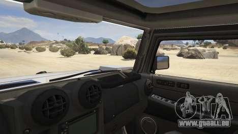 GTA 5 Hummer H2 hinten rechts
