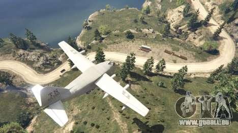 GTA 5 Amphibious Plane achten Screenshot