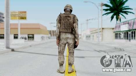 Crysis 2 US Soldier 9 Bodygroup A pour GTA San Andreas troisième écran