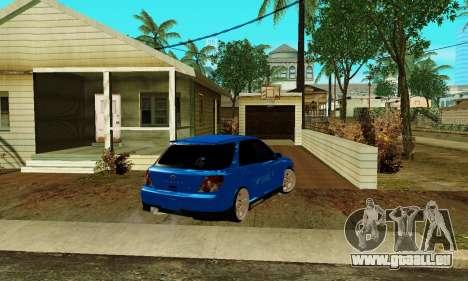 Subaru Impreza WRX STi Wagon 2003 für GTA San Andreas zurück linke Ansicht