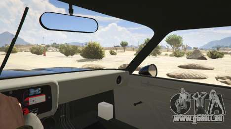 GTA 5 1974 Ford Capri RS arrière droit vue de côté