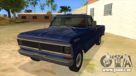 Ford F-100 1970 pour GTA San Andreas