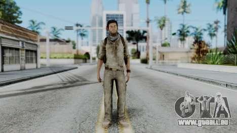 Uncharted 3 - Nathan Drake Desert Outfit pour GTA San Andreas deuxième écran
