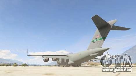 GTA 5 C-17A Globemaster III v.1.1 dritten Screenshot