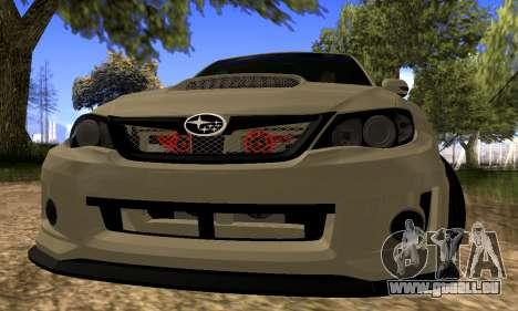 Subaru Impreza WRX STI 2008 LPcars v.1.0 für GTA San Andreas linke Ansicht