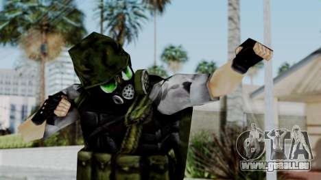 Shephard from Half-Life Opposing Force pour GTA San Andreas