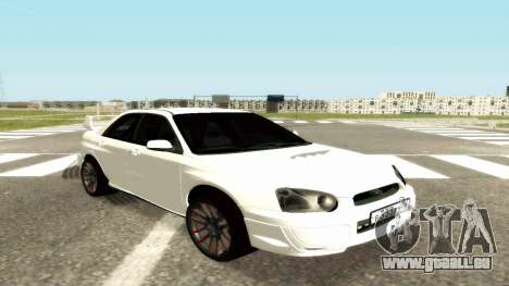 Subaru Impreza WRX STi Civil pour GTA San Andreas