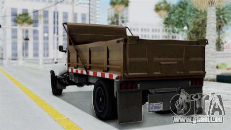 GTA 5 Tipper Second Generation für GTA San Andreas linke Ansicht