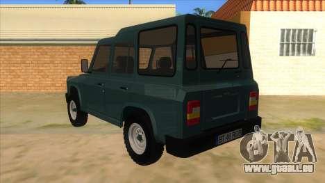 Aro 246 (1996) für GTA San Andreas zurück linke Ansicht