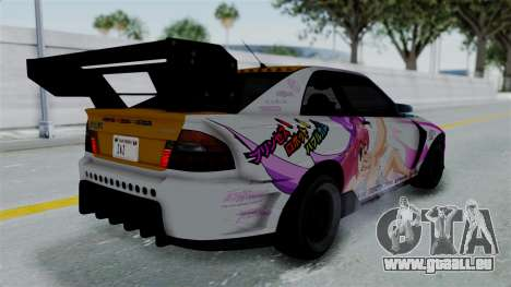 GTA 5 Karin Sultan RS Drift Big Spoiler PJ für GTA San Andreas