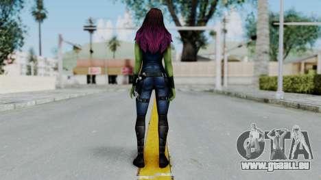 Marvel Future Fight - Gamora pour GTA San Andreas troisième écran