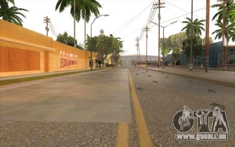 Des travaux de réparation sur Grove Street pour GTA San Andreas douzième écran