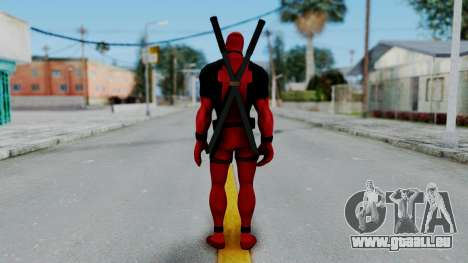 Marvel Heroes - Deadpool für GTA San Andreas dritten Screenshot