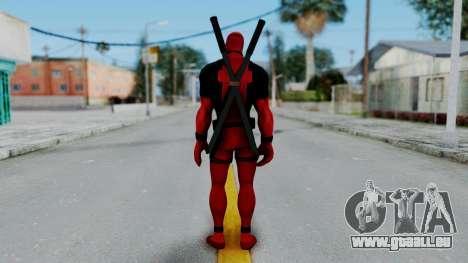 Marvel Heroes - Deadpool pour GTA San Andreas troisième écran