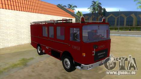 Roman 8135 FA für GTA San Andreas Rückansicht