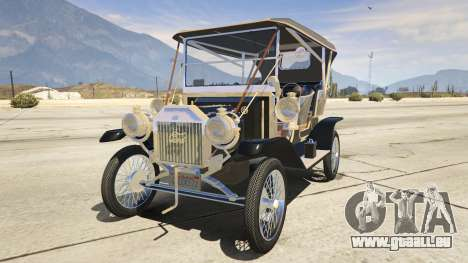 Ford T 1910 Passenger Open Touring Car für GTA 5