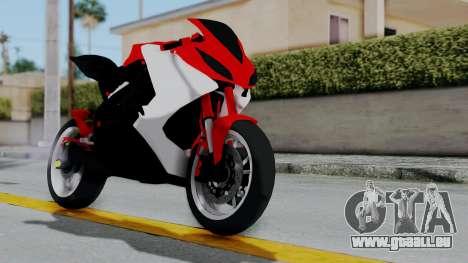 Yamaha YZF-R25 YoungMachine Concept für GTA San Andreas