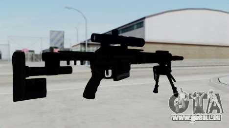 McMillan CS5 pour GTA San Andreas deuxième écran