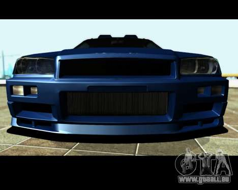 Nissan Stagea Tunable für GTA San Andreas Unteransicht