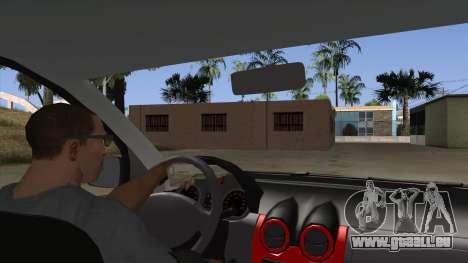 Dacia Logan für GTA San Andreas Innenansicht