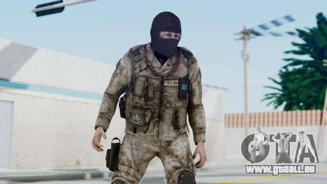 Crysis 2 US Soldier 8 Bodygroup A pour GTA San Andreas